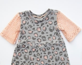 48b1ecc69192 3T Mesh Sleeve Top | Toddler Girl Clothes | Modern Toddler Clothes