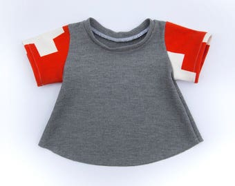 9e6f2ac4b752 4T Oversized Top | Toddler Summer Top | Modern Toddler Clothes | Toddler  Girl Clothes