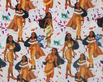 """Tema in tessuto stampato """"Pocahontas"""""""
