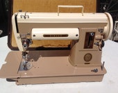 Singer 301A Sewing Machine and Accessories