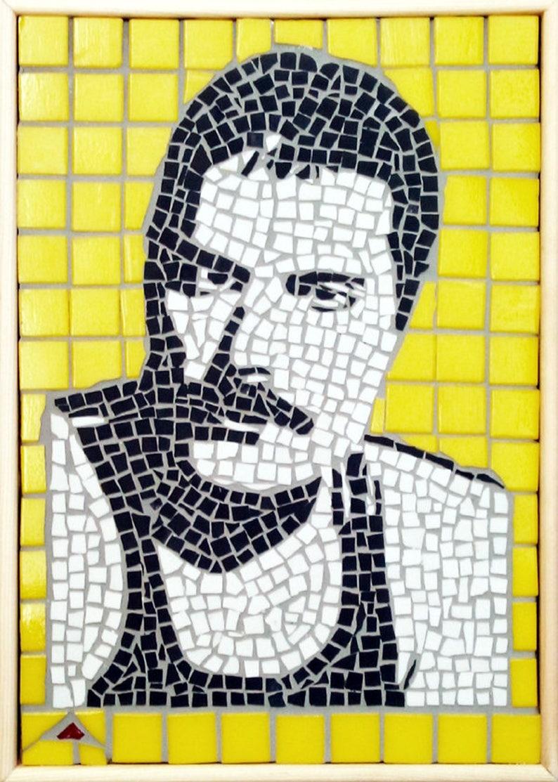 Freddy Mercury Mosaic