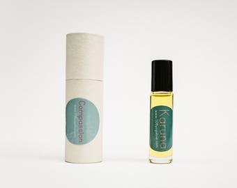 Karuna \\ The 108 Yoga Love Essential Oil Blend \\ 108YogaLove .. The Union of Yoga and Art .. Yoga Cards
