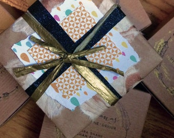 A most lovely gift wrapping for your purchase \\ Yoga Cards\\ 108YogaLove
