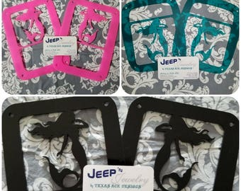 Nautical Themed Jeep Tail Light Covers(Pair)