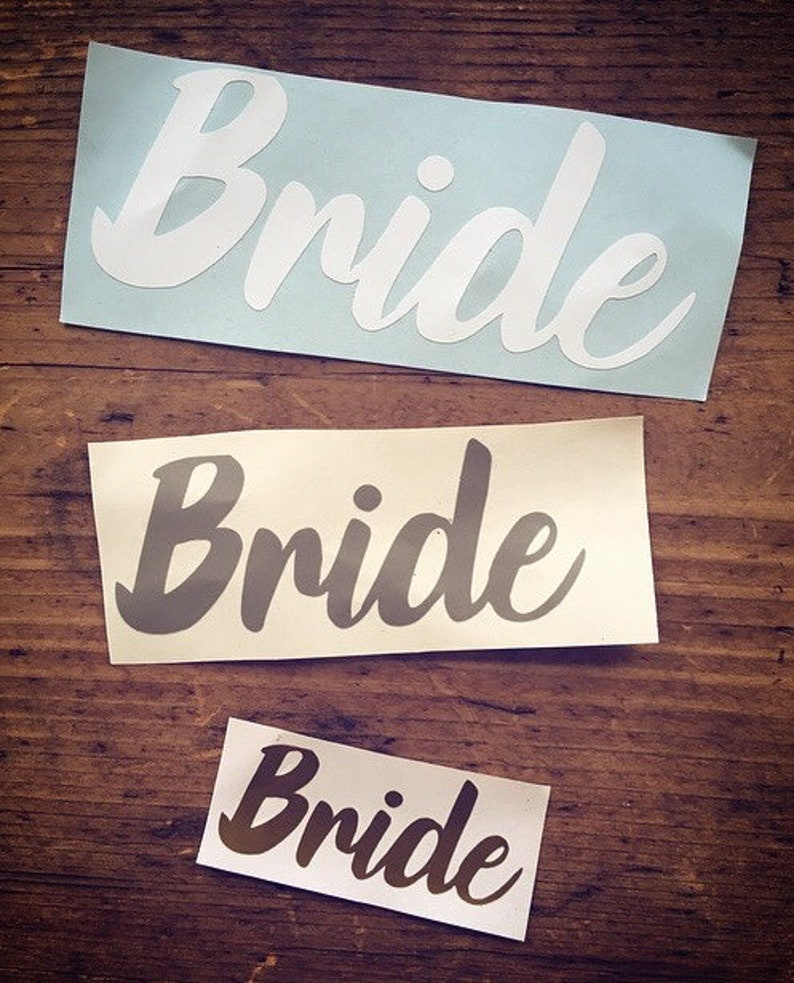 black white vinyl personalised hen party packs bridesmaid gifts wedding favours Personalised decals hen party gifts DIY gold silver
