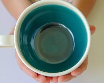 Soup Mug, handmade, pottery