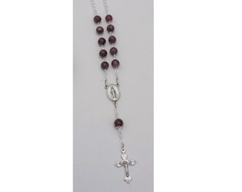Auto Rosary Custom made from your Flowers