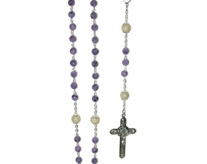 Featured listing image: Rosary Custom made from your Flowers