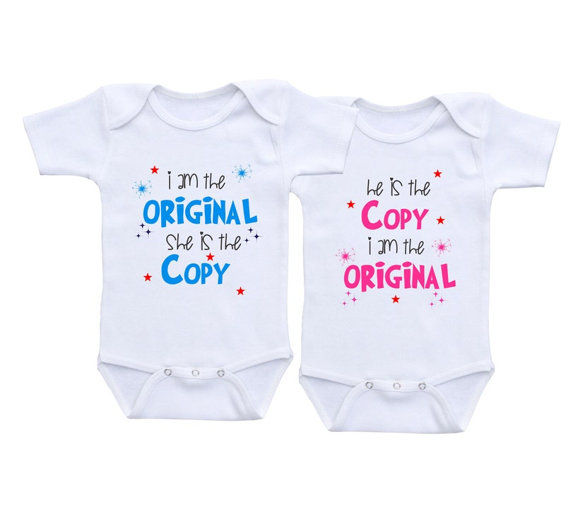 3f95963f352 Funny Twin Onesie Twin outfits boy girl Twins baby gift twins