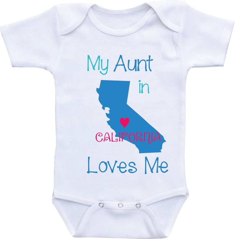 1ed85268a My Aunt Loves Me Onesie baby boy available in Different | Etsy
