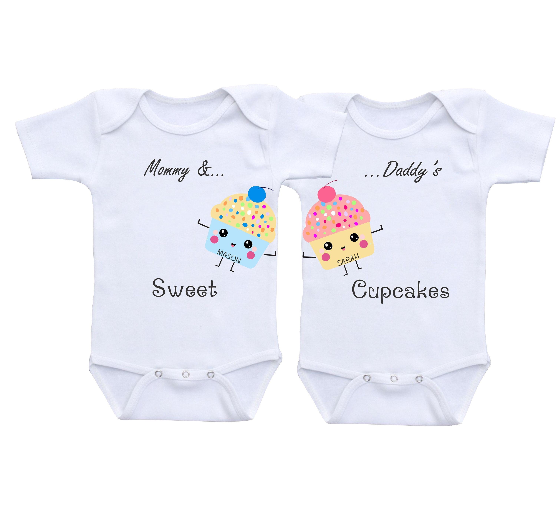 Baby Zwillinge Baby Geschenke junge Mädchen Twin Outfit junge | Etsy