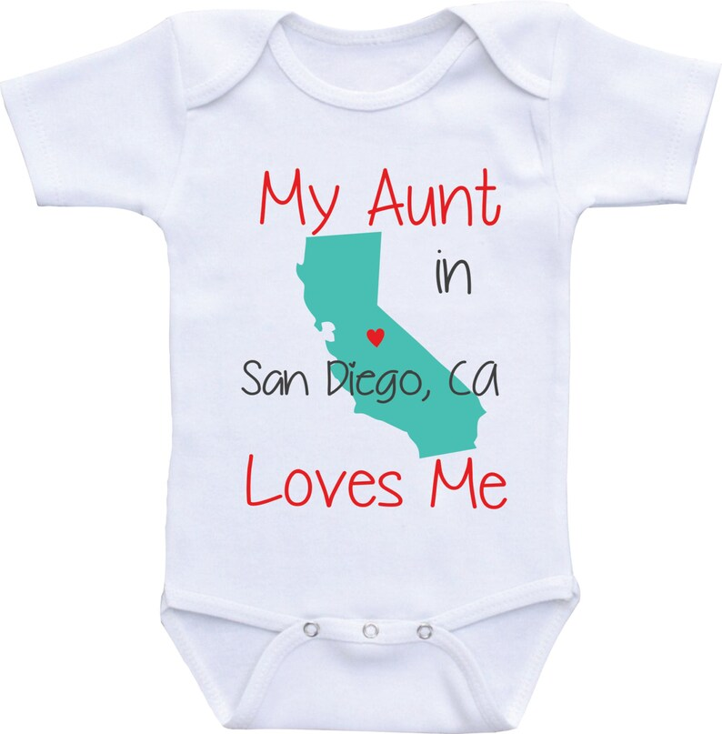 4e98eb855 My Aunt Loves Me-Available in different States Auntie baby | Etsy