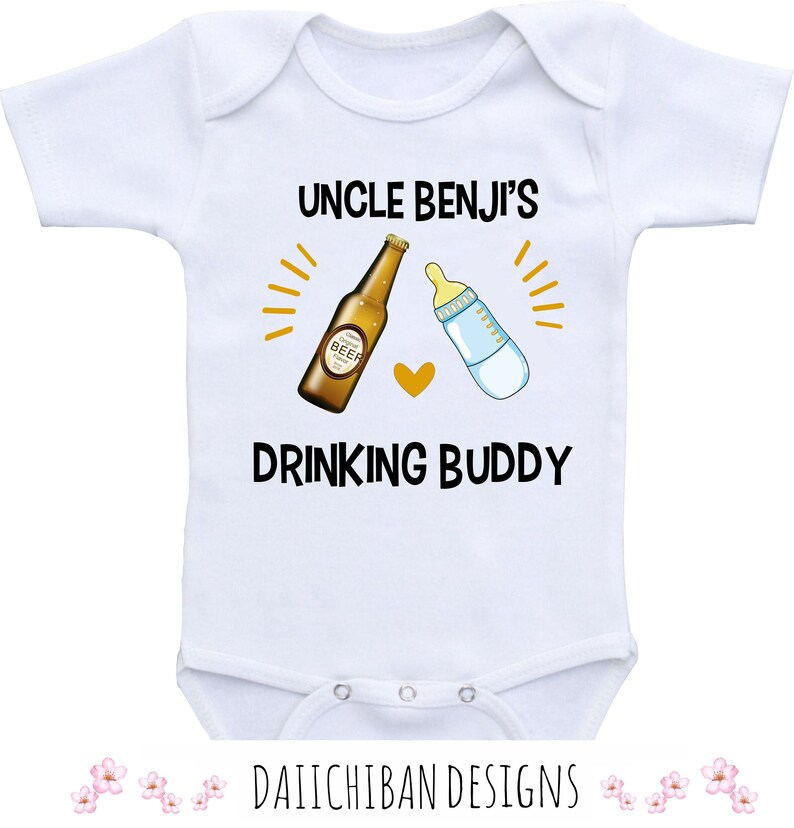 3e316acfc Uncle baby girl clothes Uncle onesie for girl Uncle baby boy | Etsy
