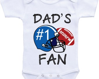 football shirt Football baby bodysuit,Baby boy Football Sports Outfit,Personalized Football Baby Onesie football season football baby outfit