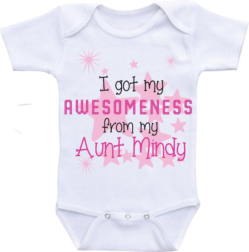 a28cbe981 Auntie Onesies Aunt baby clothes aunt onesie auntie shirt baby | Etsy