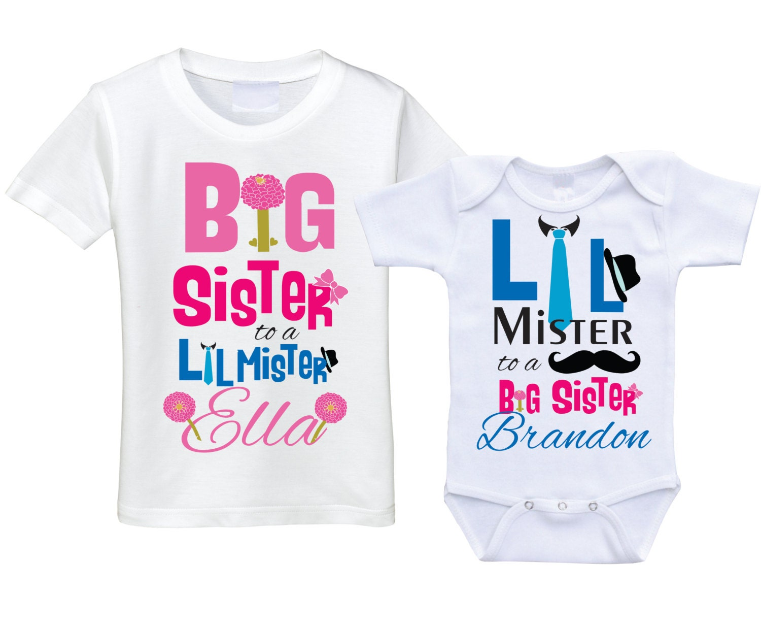 Big Sister Announcement Shirts Canada