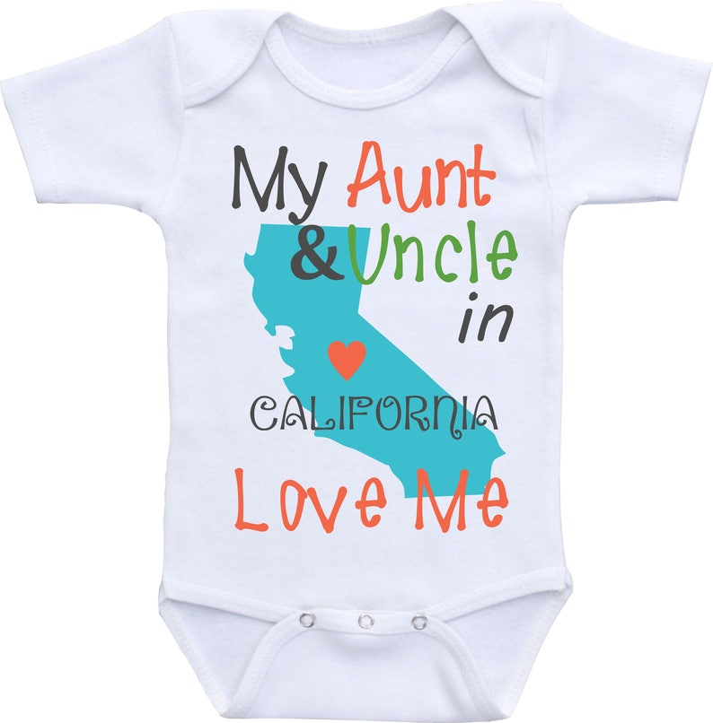 0248562ef My Aunt and Uncle Love Me Onesies Auntie shirt from Different | Etsy