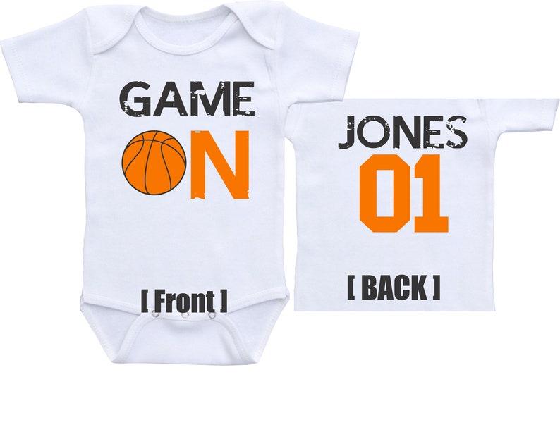 ef09ca512d2e Basketball Onesie Basketball Jersey baby boy basketball outfit