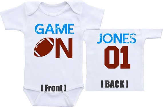 163dc2fde Football Jersey baby Football baby boy football outfit