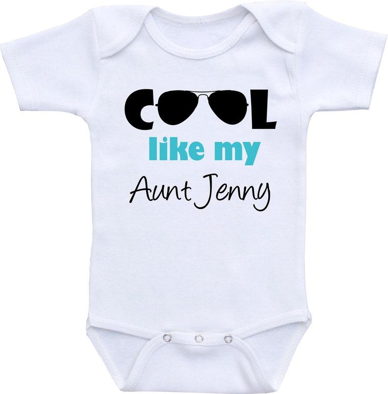 8d703bfcb Aunt Onesie boy auntie baby clothes aunt onesie girl niece | Etsy