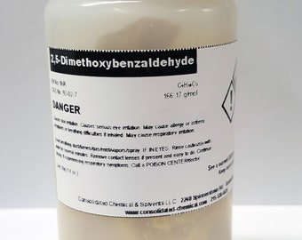 2,5-Dimethoxybenzaldehyde High Purity Reagent 50g Bottle