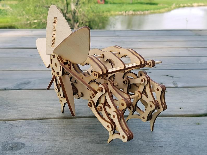 Strandbeest wooden model  Kit. Free Global Shipping image 0