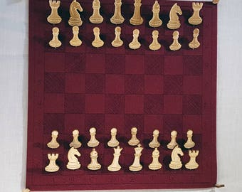 Felt Pin Board Chess Set - free shipping