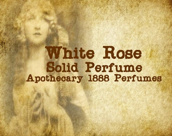 White Rose Solid Perfume