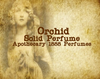 Orchid Solid Perfume