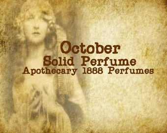 October  Solid Perfume