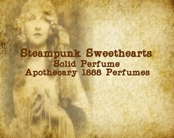 Steampunk Sweethearts Solid Perfume