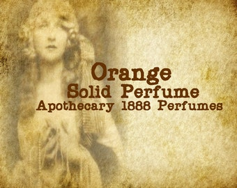 Orange Solid Perfume