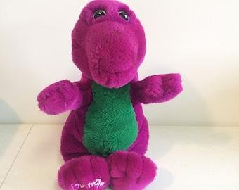 90s Barney Plush Etsy