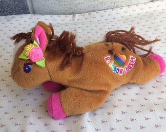 Lisa Frank Chaser Beanie doll 7220c8af0c60