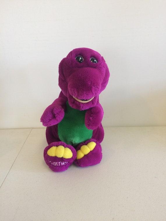 Vintage 90s Barney Plush Barney Doll Etsy