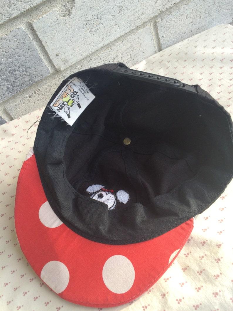 83af334f012 Rare Minnie Mouse Ears Baseball Cap Minnie Mouse Cap Minnie