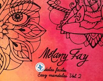 Mandalas easy, easy mandalas vol.2