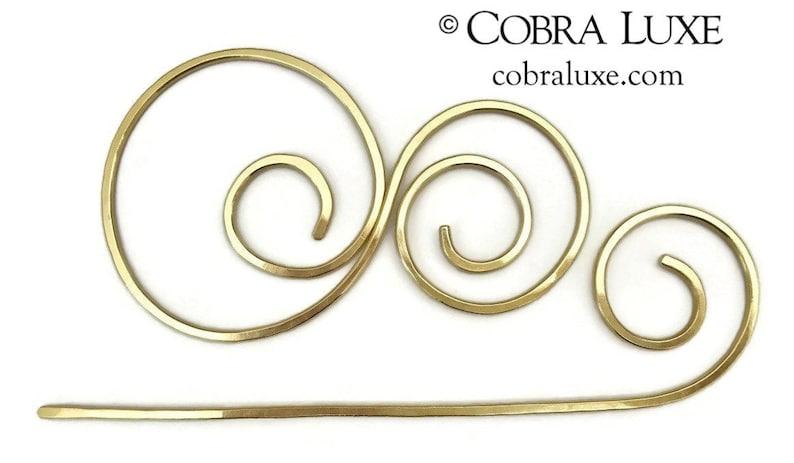 Circles Hair Stick Bun Holder Shawl Scarf Pin Hair Pin Mothers Day Metal Hair Stick Barrette for all hair types Gift Women