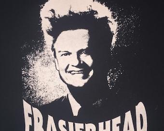 The Original Frasierhead Shirt - discharge ink - super soft ring spun cotton