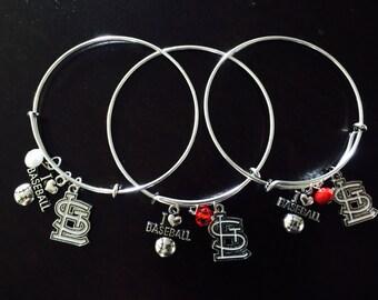 St Louis Cardinals Expandable Bracelet