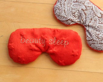 Eye Pillow, Custom Eye Mask, Rice Pillow, natural heat pad,Migraine,Stress Relief, cold pack, lavender, eucalyptus, cold pad, comfort