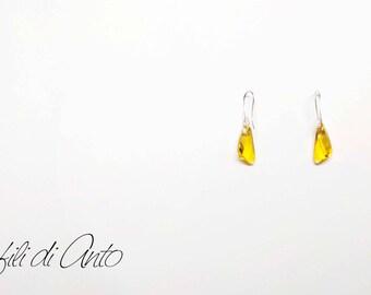 Earrings Triangle Earrings Love Earrings Love Meaning Earrings