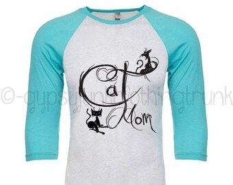 Cat Mom Shirt - Cat Clothes for People - Gifts for Cat Moms - Cat Mom - Cat Dad - Cat Shirt - Cat Shirt for People - Sphynx Cat Shirt