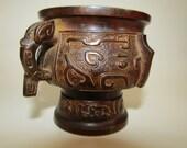 Japanese Meiji Era, Late 19th Century Bronze Censer