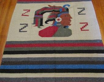 Zapotec Mexican Rug/Blanket