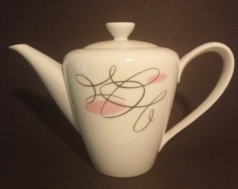 Vintage Japanese Narumi Rhythm #2536 Porcelain Teapot