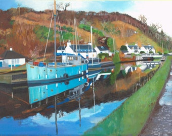 Prints Crinan Canal