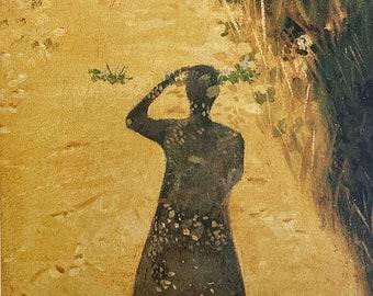 Art Print of Tuscan Shadows Italy Wall Art