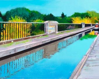 Giclee Print Avon Aqueduct Union Canal