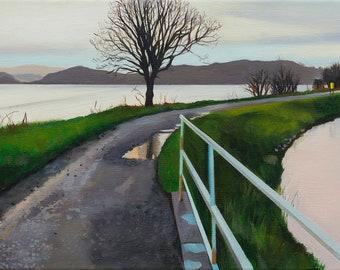 Giclee Print Crinan  Canal  After the Rain wall art